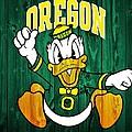 Oregon Ducks Barn Door by Dan Sproul