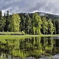 Oregon Lake by Erika Fawcett