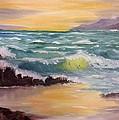 Oregon Seascape by Larry Hamilton