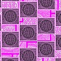 Oreo Pink Squares For The Cure by Rob Hans