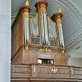 Organ At Westminster by David Bearden