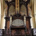 Organ Chapel Royal - Dublin Castle by Christiane Schulze Art And Photography