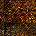 Organic Metal Motorcycle by Ray Van Gundy