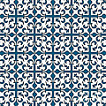 Orient Blue And White Interlude by Jackie Farnsworth
