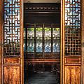 Orient - Door - The Temple Doors by Mike Savad