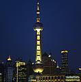 Oriental Pearl Tower, Shanghai by John Shaw