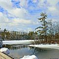 Oriental Powder Mills Lake by Catherine Melvin
