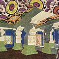 Oriental Scenery Design by Leon Bakst