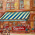 Original Bank Notre Dame Street by Carole Spandau