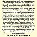 Original Desiderata Poem by Desiderata Gallery