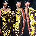 Original Divas The Supremes by Ronald Young
