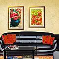 Original Fine Art Home Decor Flowers by G Linsenmayer