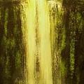 High Falls-original Sold-buy Giclee Print Nr 37 Of Limited Edition Of 40 Prints   by Eddie Michael Beck