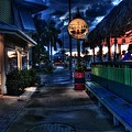 Original Tiki Bar Fort Pierce by Richard Hemingway
