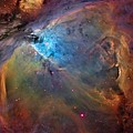 Orion Nebula Close Up 2 1-3-14 by L Brown