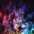 Orion Nebula Rainbow Smoke by Jennifer Rondinelli Reilly - Fine Art Photography