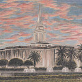 Orlando Florida Lds Temple by Pris Hardy