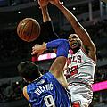 Orlando Magic V Chicago Bulls by Jonathan Daniel