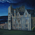 Ormonde Castle And Manor By Night by Teresa Moran