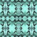 Ornamental Abstract Green Crystal by Nenad Cerovic