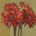 Ornamental Gerbers by Cathy Locke
