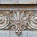 Ornamental Scrollwork Panel - Architectural Detail by Nikolyn McDonald