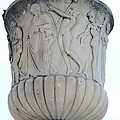 Ornaments On Urn Campo Santo Pisa  by Christiane Schulze Art And Photography