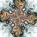 Ornate Cross by Anastasiya Malakhova