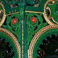Ornate Fountain Detail by John Bailey