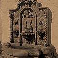 Ornate Wall Fountain by Viktor Savchenko