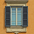 Ornate Window Of Rome by David Letts