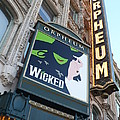 Orpheum Sign by Carol Groenen