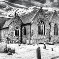 Orsett Church Essex England by David Pyatt