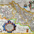 Ortelius Map Of Portugal Porvgalliae Geographicus Portugalliae Ortelius 1587 by MotionAge Designs