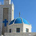 Orthodox Church At Taybeh by Munir Alawi