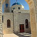 Orthodox Church Entrance by Munir Alawi
