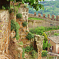 Orvieto Battlement by Ellen Henneke