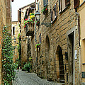 Orvieto Lane by Ellen Henneke