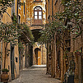Orvieto Side Street by Lynn Andrews