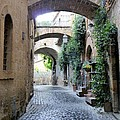 Orvieto Street With Arches by Richard Rutan