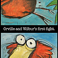 Orville And Wilburs First Flight by Tim Nyberg