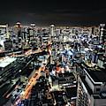 Osaka Night View by Hiroaki Koga