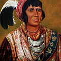 Osceola The Black Drink A Warrior Of Great Distinction By John Travisano After George Catlin by John Travisano