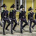Oslo Royal Palace Guards by John Jack