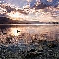 Osoyoos Lake Sunset by Allan Van Gasbeck