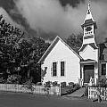 Oysterville Church by Mike Penney