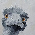 Ostrich by Saundra Lane Galloway