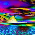 Other Worldly Beach by Ron Fleishman