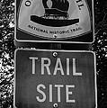 Oregon Trail Sign A by David Lee Thompson