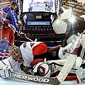 Ottawa Senators V New York Rangers by Bruce Bennett